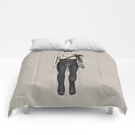 Furiosa without a face (MadMax) Comforters
