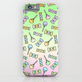 Cute Candy for Halloween iPhone Case