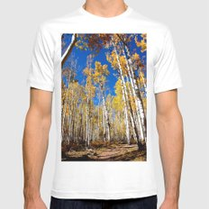 Enchiladas in the Trees 1 White Mens Fitted Tee MEDIUM