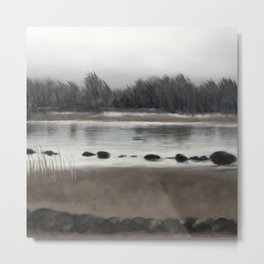 Too early out Metal Print