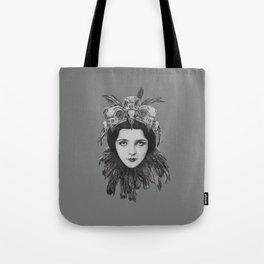 Lady Bird Skull Tote Bag