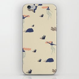 Dezert swim iPhone Skin