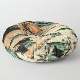Viking Man Floor Pillow