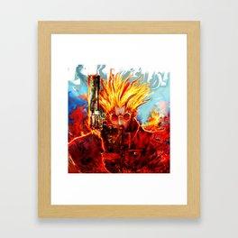 trigun Framed Art Print