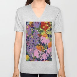 Aromatherapy for the Bees in Midnight Navy Unisex V-Neck