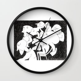 The Lecture Wall Clock