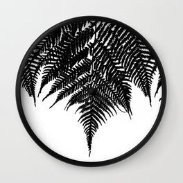 Fern Fringe Wall Clock