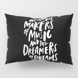 Makers of Music Pillow Sham
