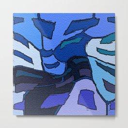 Blue Alto Metal Print