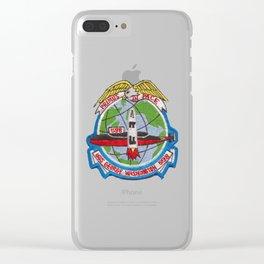 USS GEORGE WASHINGTON (SSBN-598) PATCH Clear iPhone Case