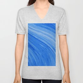 401 - Abstract Flowing Water Design Unisex V-Neck