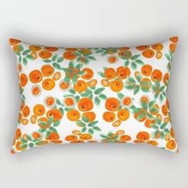 Fresh Orange Juice Pattern Rectangular Pillow
