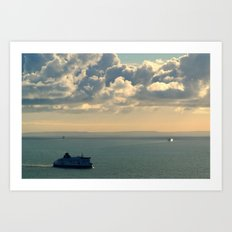 To and From France Art Print