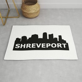 Shreveport Skyline Rug