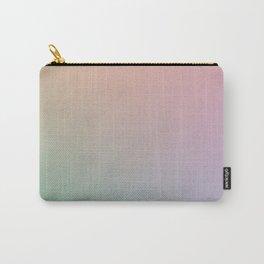 HOLOGRAPHIC - Minimal Plain Soft Mood Color Blend Prints Carry-All Pouch