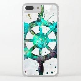 The Captains Wheel Clear iPhone Case