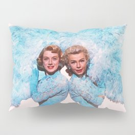 Sisters - White Christmas - Watercolor Pillow Sham