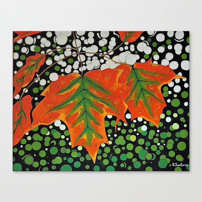 Autumns Kiss Canvas Print