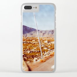 Road Tripping in Scandinavia Clear iPhone Case