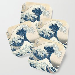The Great Wave off Kanagawa by Katsushika Hokusai from the series Thirty-six Views of Mount Fuji Coaster