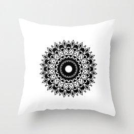 Mandala: layered Throw Pillow