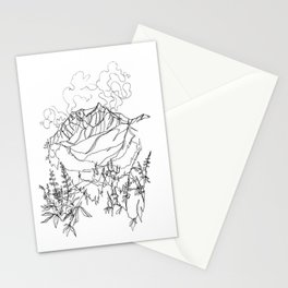 Lupine Time :: Single Line Stationery Cards