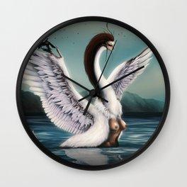 Harpies Wall Clock