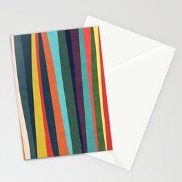 Mid-century zebra Stationery Cards