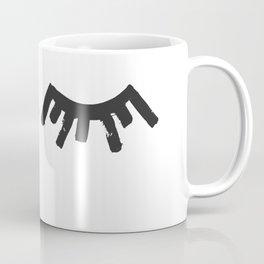 Eye Lashes Coffee Mug