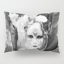 Venetian carnival mask D - Lady Nature Pillow Sham