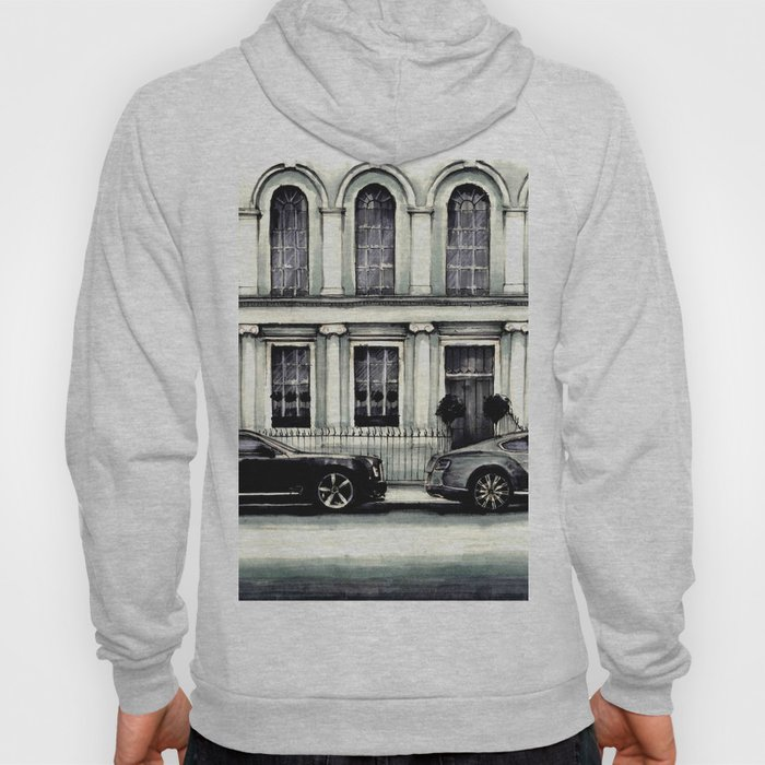 THE STREET OF LONDON IN GREYS Hoody