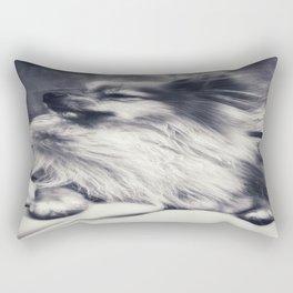 Pomeranian Thoughts.. Rectangular Pillow