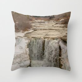 Soggy Trails Throw Pillow