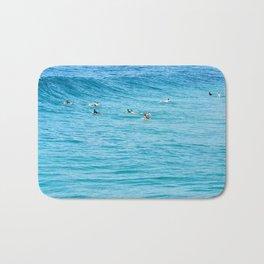 Ten Men One Wave Bath Mat