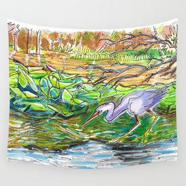Floating Forest Wall Tapestry