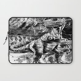 T-Rex Pen and Ink Laptop Sleeve