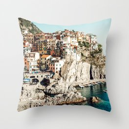 Once Upon a Time in Italy Throw Pillow