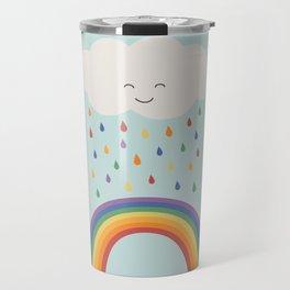 let's make rainbows Travel Mug