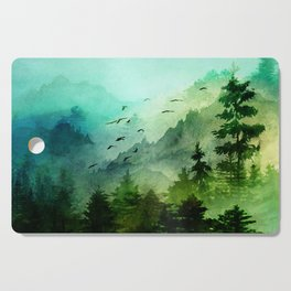 Mountain Morning Cutting Board