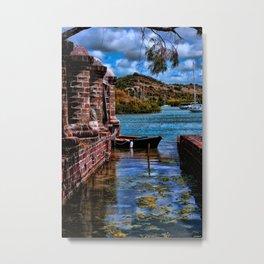Nelsons Dockyard Metal Print