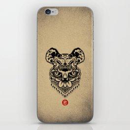 King Bear iPhone Skin