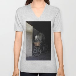 Ride In the Shadows Unisex V-Neck