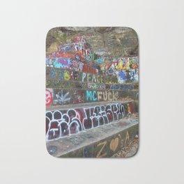Graffiti in the wild Bath Mat