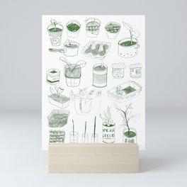 Cover, CONTAIN, Compost - 2 of 3 Mini Art Print