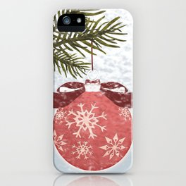 Christmas Ball iPhone Case