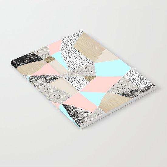 Geo Lights Notebook