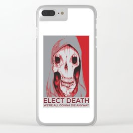 Third Party Candidate Clear iPhone Case