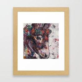 Papaya Framed Art Print