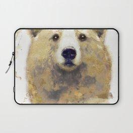 Golden Forest Bear Laptop Sleeve