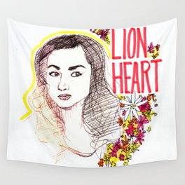 Queen Argent Wall Tapestry